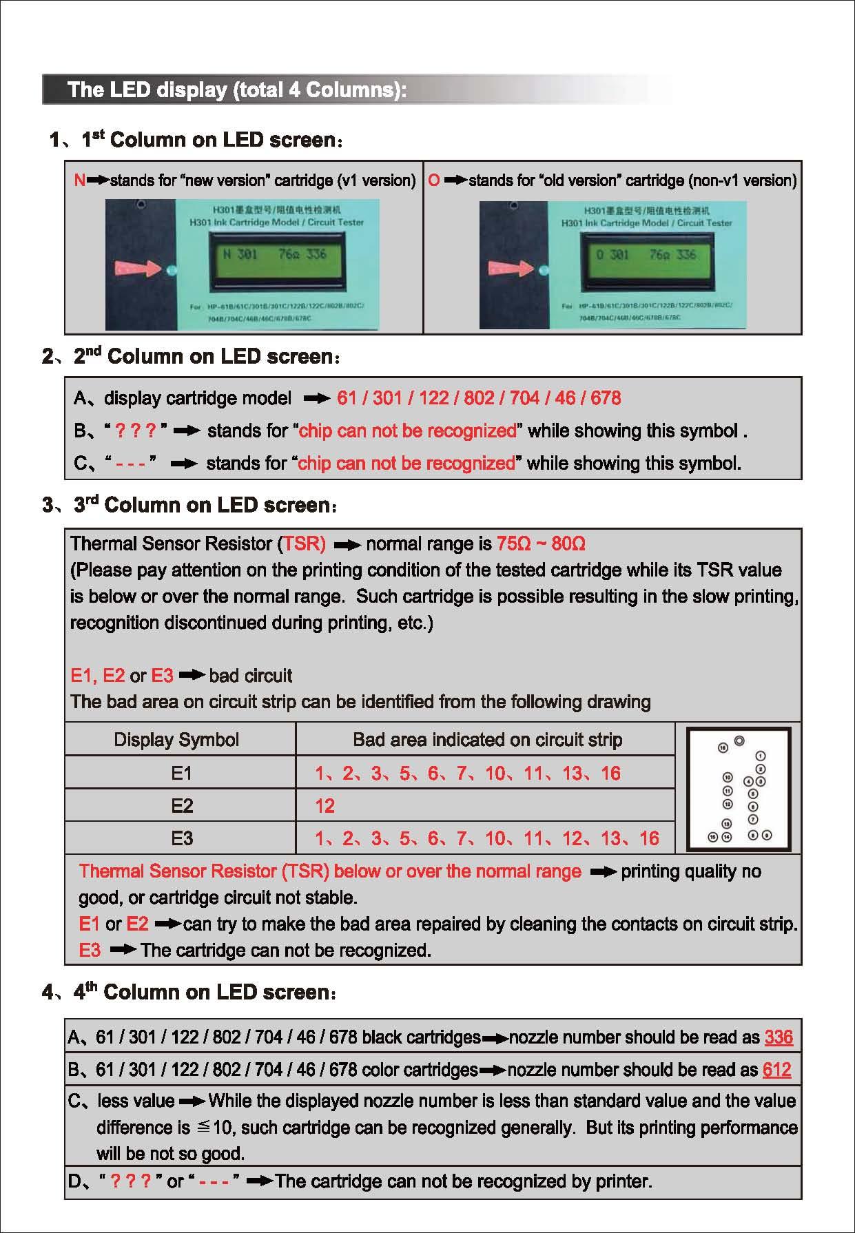 Circuit Tester Type B Led